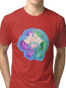 Mermaid Friends Forever Tri-blend T-Shirt