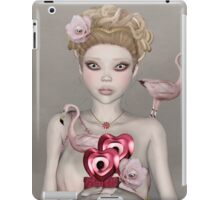 Surreal portrait of a woman with big eyes iPad Case/Skin