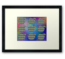 Array Of Apples Framed Print