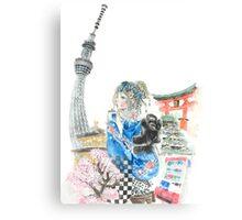 Alice in Tokyo Canvas Print
