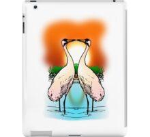 Whooping Crane iPad Case/Skin