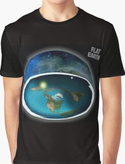 It's flat the earth,#flat earth  Graphic T-Shirt