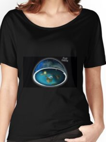 It's flat the earth,#flat earth  Women's Relaxed Fit T-Shirt