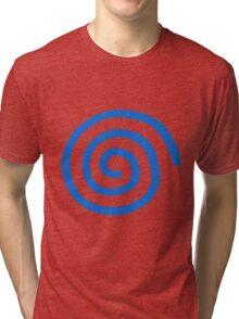Dreamcast Logo (European; No Text) Tri-blend T-Shirt