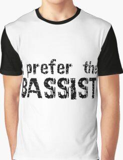 Rock Bass Guitar Music Musician Bassist Graphic T-Shirt