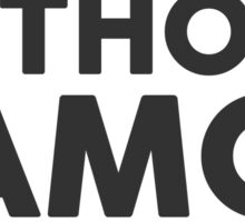Anthony Ramos tho. Sticker