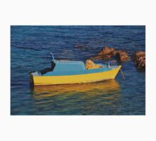 Small fishing boat, Halki One Piece - Long Sleeve