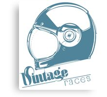 VINTAGE RACES Canvas Print