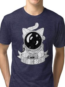From The Skies Tri-blend T-Shirt