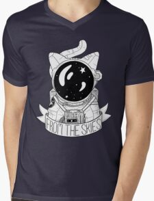 From The Skies Mens V-Neck T-Shirt