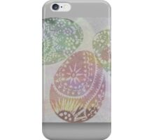 Easter colours iPhone Case/Skin