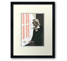 bedelia smoking Framed Print