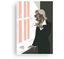 bedelia smoking Canvas Print