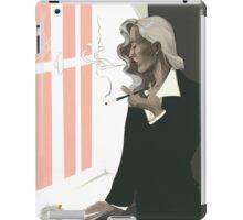 bedelia smoking iPad Case/Skin
