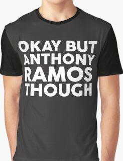 Anthony Ramos tho. (white font) Graphic T-Shirt