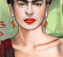 Frida con amigos Sticker