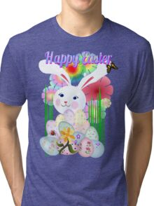 A Nice and Normal Easter Bunny Tri-blend T-Shirt