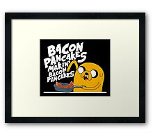 Finn n Jake  Framed Print