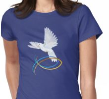The Dove Of Peace Womens Fitted T-Shirt