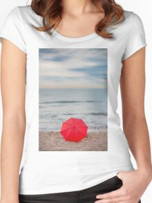 Red Umbrella Women's Fitted Scoop T-Shirt