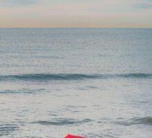 Red Umbrella Sticker