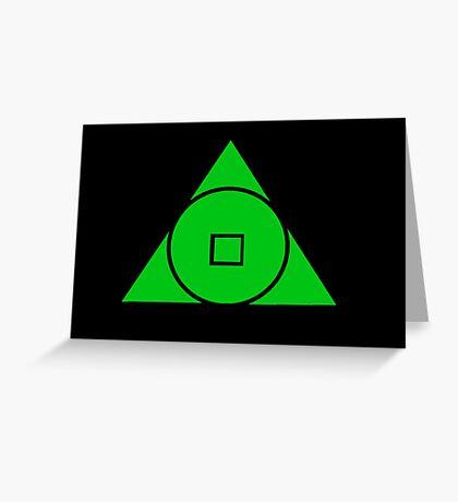 United Earth Order Greeting Card