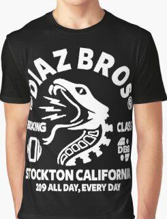 Diaz Bros Boxing Class Graphic T-Shirt