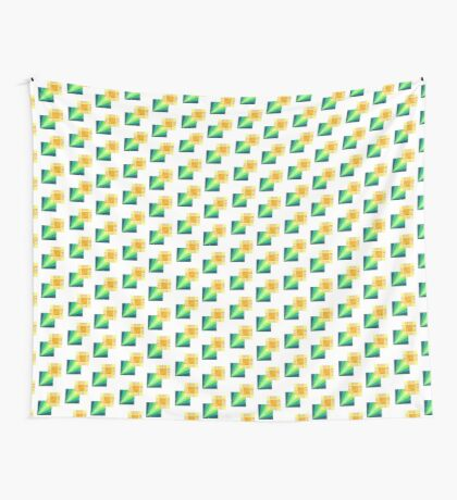 Squared Away Wall Tapestry