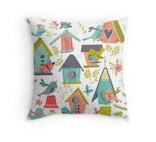 It's a Bird's Life Throw Pillow