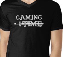 Gaming time Mens V-Neck T-Shirt