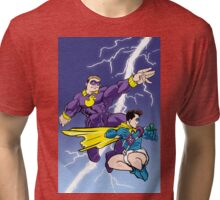 Diaperman - The Damp Knight Returns Tri-blend T-Shirt