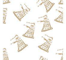 Dalek pattern Photographic Print