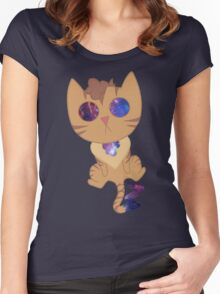 Galaxy Eyes Women's Fitted Scoop T-Shirt