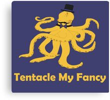 Tentacle My Fancy Canvas Print