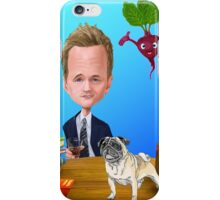 Pugs, HIMYM and Vegies! iPhone Case/Skin