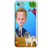 Pugs, HIMYM and Vegies! iPhone Case/Skin
