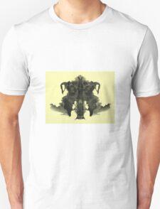 Vintage Rorschach Test Unisex T-Shirt