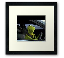 Kermit Shirts, Posters and Phone Cases Framed Print