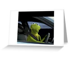 Kermit Shirts, Posters and Phone Cases Greeting Card