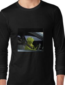 Kermit Shirts, Posters and Phone Cases Long Sleeve T-Shirt
