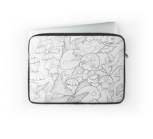 Coloring book page Sea breaker   Laptop Sleeve