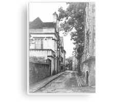 Street in Oxford  Canvas Print