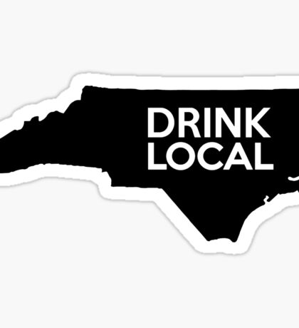 North Carolina Drink Local NC Sticker