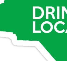 North Carolina Drink Local NC Green Sticker