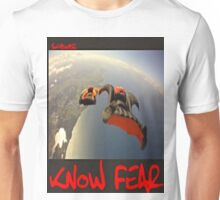 Skydiver by KNOW FEAR WEAR Unisex T-Shirt