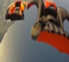 Skydiver by KNOW FEAR WEAR Sticker