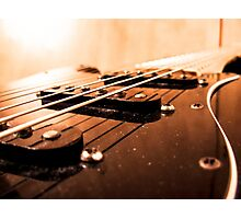Strings and Pickups Photographic Print