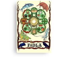 FoDLA Wheel of the Year Canvas Print