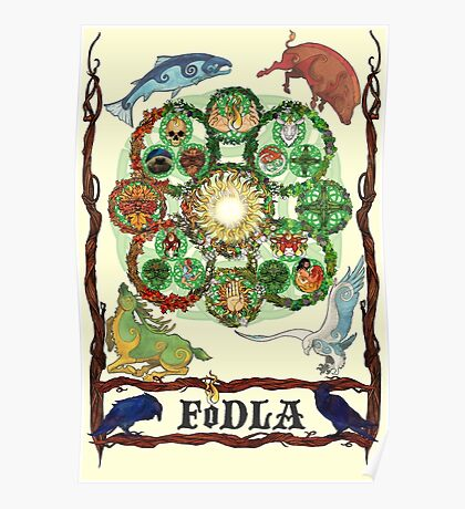 FoDLA Wheel of the Year Poster