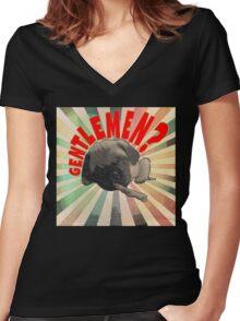 Gentleman Smitty Women's Fitted V-Neck T-Shirt